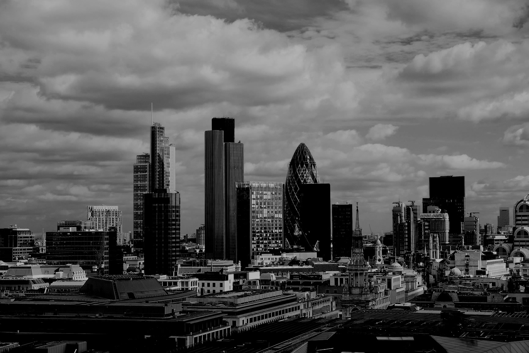 The gallery for --> Black City Skyline